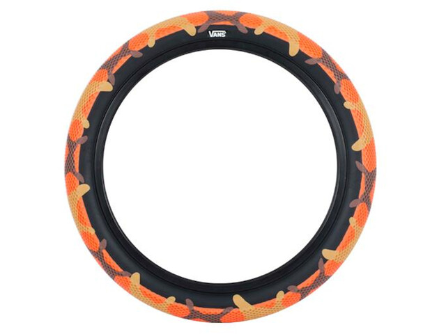 "CULT Vans Waffle BMX Tyre 16x2.30"" orange camo/blackwall"
